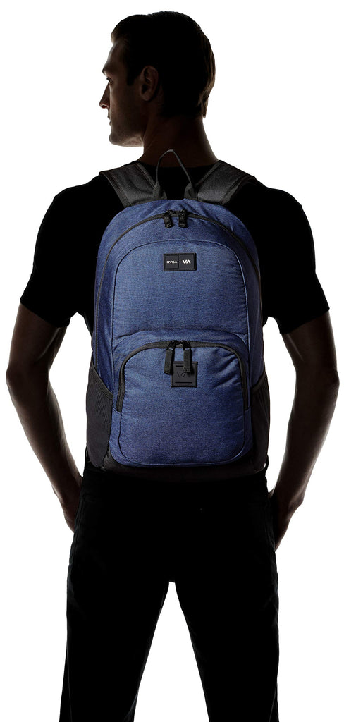 RVCA Men's Estate Backpack II, navy heather, ONE SIZE - backpacks4less.com