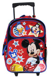 Disney Full Size Mickey Mouse and Friends Kids Rolling Backpack - backpacks4less.com