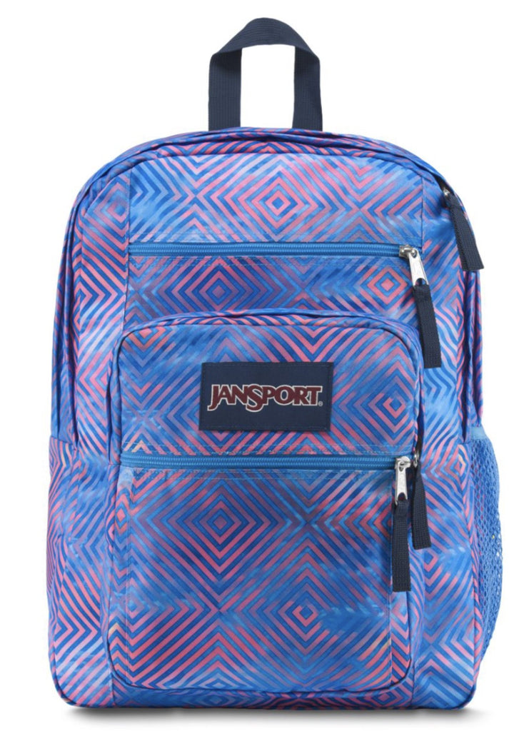 JanSport Big Student Backpack, Optical Clouds - backpacks4less.com