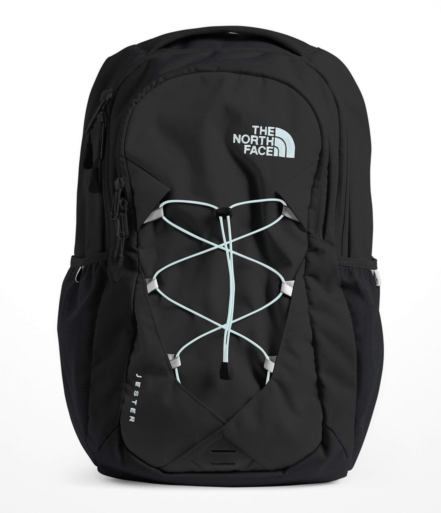 The North Face Women's Jester Laptop Backpack (Black/Origin Blue) - backpacks4less.com
