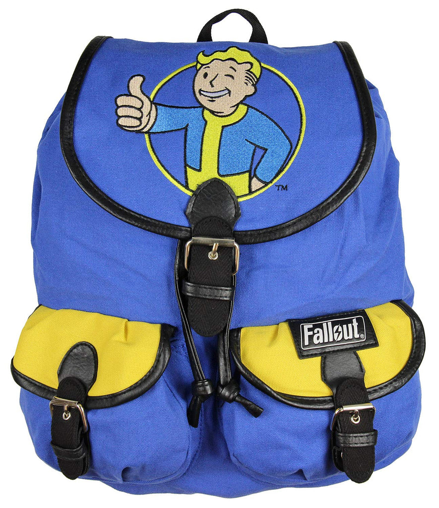 Fallout Backpack Vault Boy Thumbs Up Knapsack - backpacks4less.com