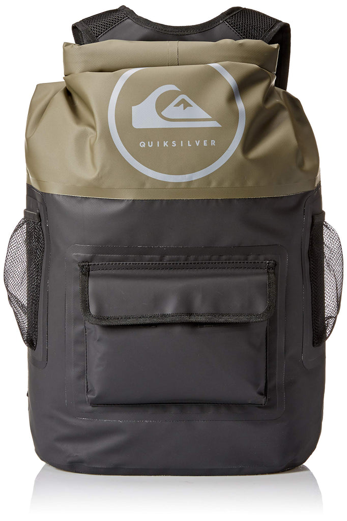 Quiksilver Men's SEA STASH Backpack, thyme 1SZ - backpacks4less.com