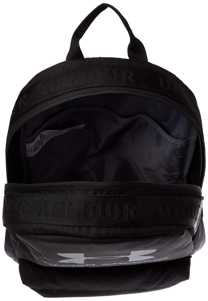Under Armour Loudon Backpack, Black//Pitch Gray, One Size Fits All - backpacks4less.com
