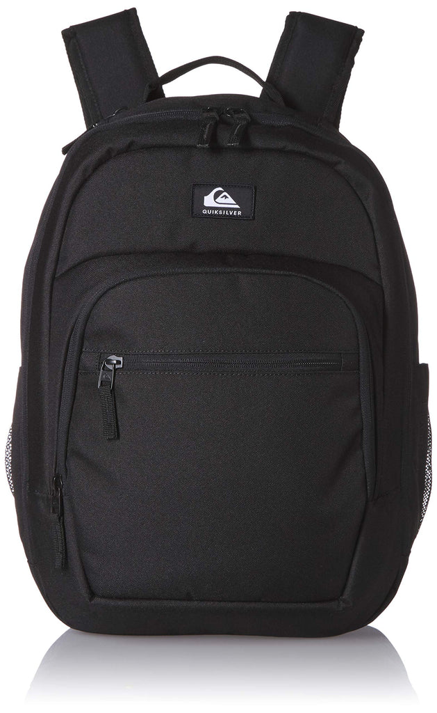 Quiksilver Men's SCHOOLIE Cooler II Backpack, black, 1SZ - backpacks4less.com