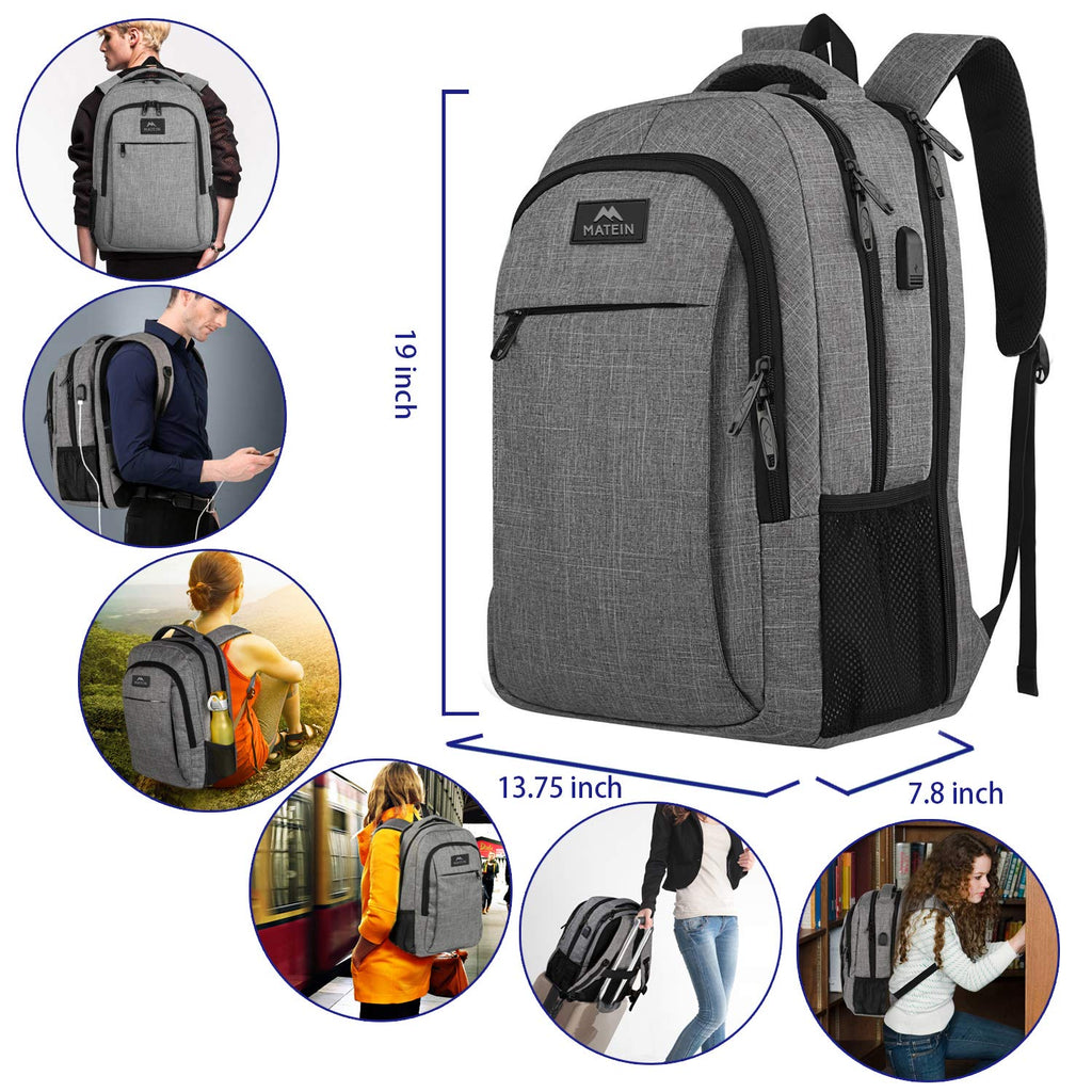 Laptop Computer Backpacks for Travel and Business Flight Weekender Backpacks Fits 15.6 Inch Laptop for Women//Men Business Carry-on Travel Laptop Backpack