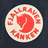 Fjallraven Mini Kanken Backpack Black / Ox Red - backpacks4less.com