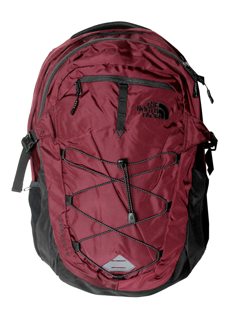 The North Face Unisex Borealis Backpack Laptop Daypack RTO (Deep Garnet Red) - backpacks4less.com