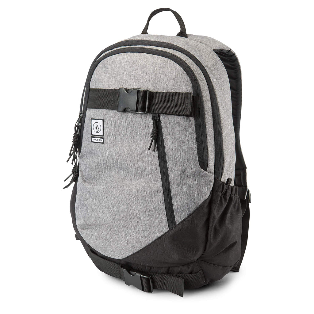 Volcom Men's Substrate Backpack, black grey, One Size Fits All - backpacks4less.com