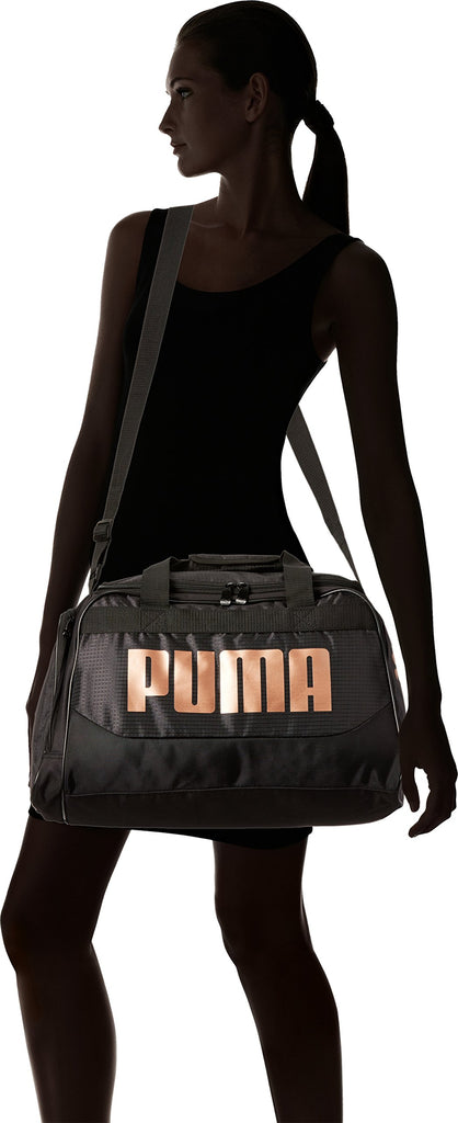 PUMA Women's Evercat Dispatch Duffel, black/bronze, OS - backpacks4less.com