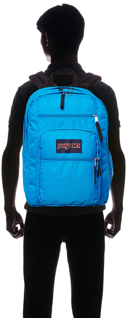 JanSport Big Student Backpack- Sale Colors (Blue Crest) - backpacks4less.com