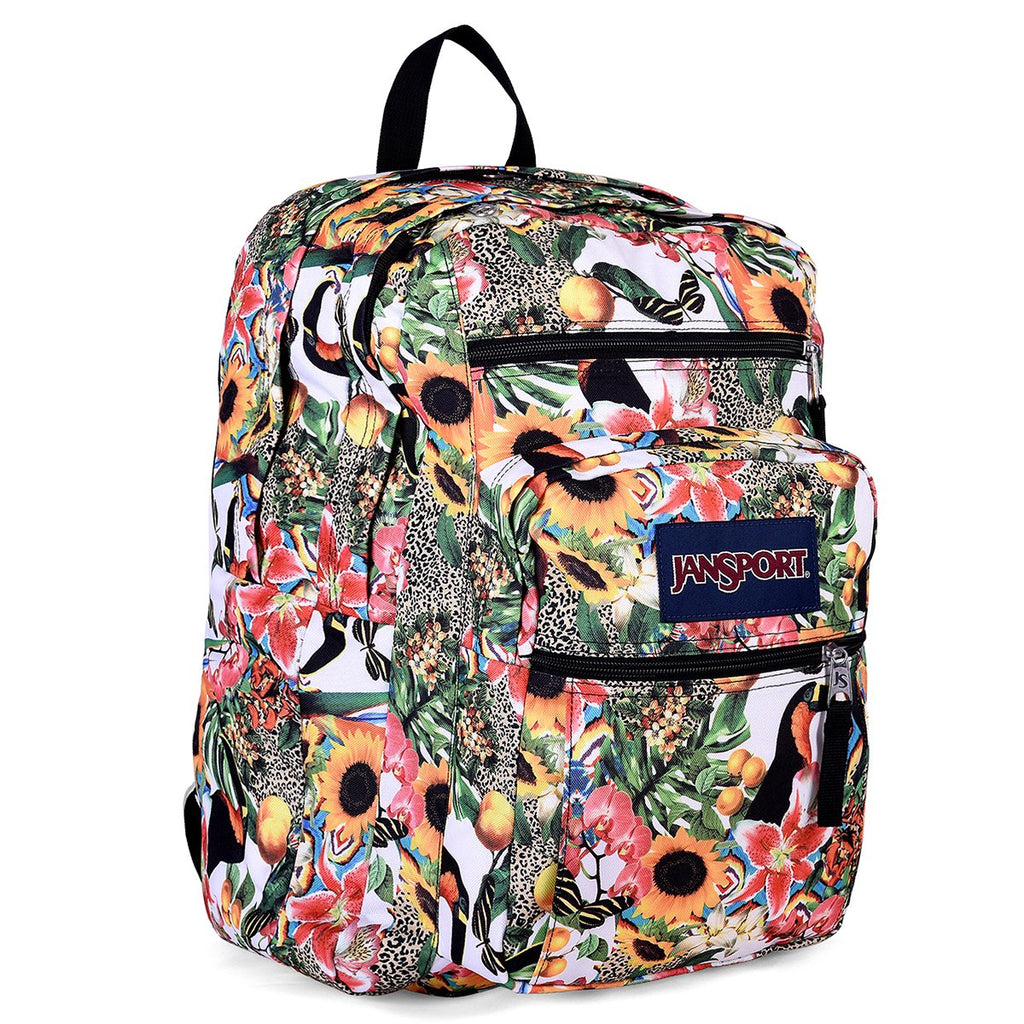JanSport Unisex Big Student Multi Jungle Jam Backpack - backpacks4less.com