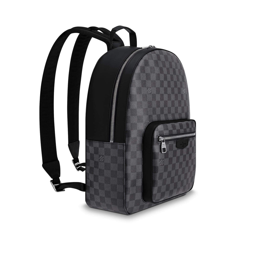 Louis Vuitton Josh Backpack (Damier Graphite) - backpacks4less.com
