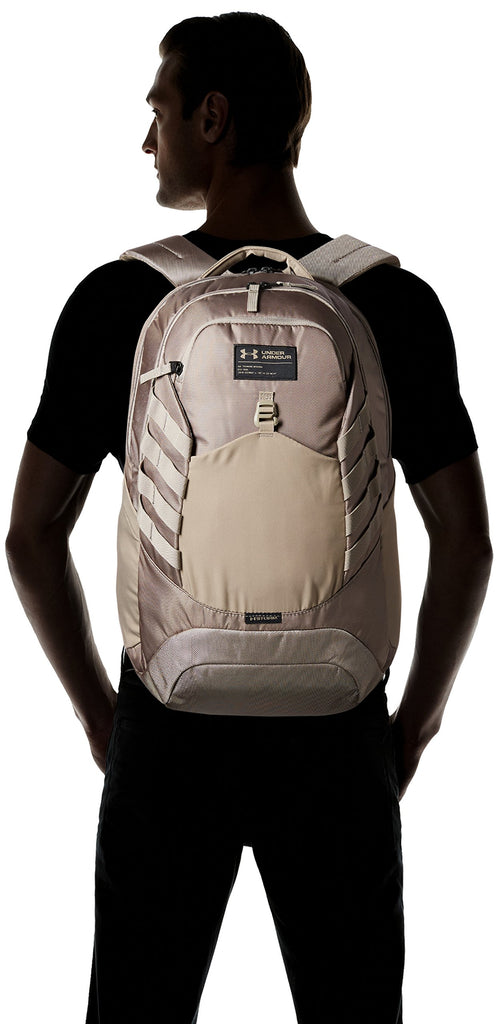 Under Armour Hudson Backpack, Stoneleigh Taupe (200)/Stoneleigh Taupe, One Size Fits All Fits All - backpacks4less.com