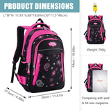 School Backpack, Fanspack Backpack for Girls 2019 New Kids Backpack Waterproof Large Girls School Bag Bookbags - backpacks4less.com