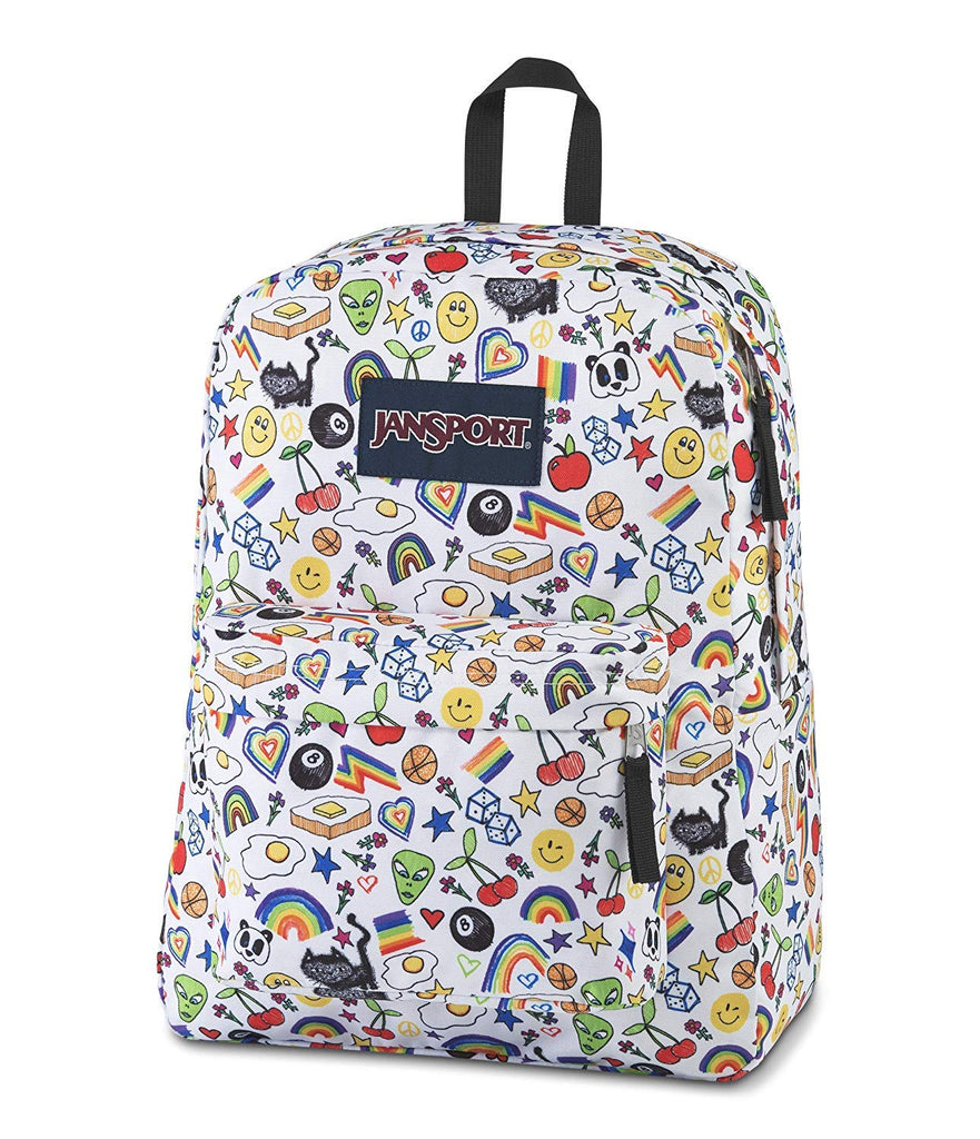 Jansport backpack BIG STUDENT OVER THE RAINBOW - backpacks4less.com