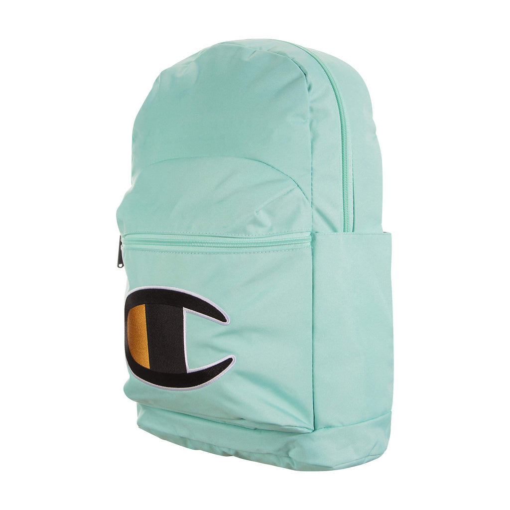 Champion Men's Supercize 2.0 Backpack (Light Pastel Green, One Size) - backpacks4less.com