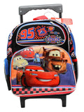 Disney Pixars' Cars Racers 12 inch Small Rolling Backpack - backpacks4less.com