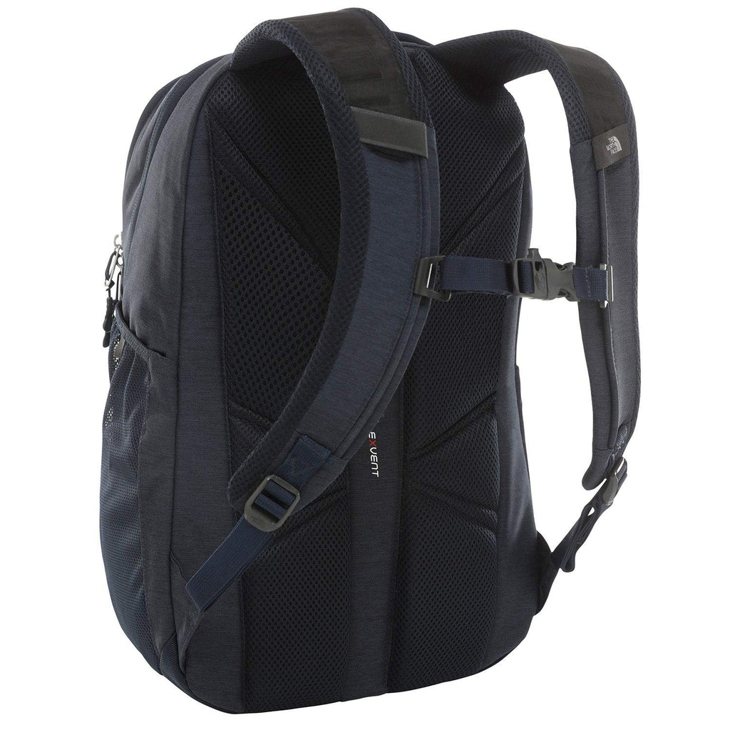 The North Face Jester Backpack, Urban Navy Light Heather/TNF White, One Size - backpacks4less.com