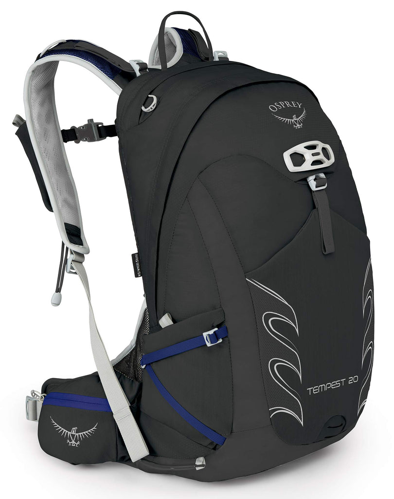 Osprey Packs Tempest 20 Women's Hiking Backpack, Black, Wxs/S, X-Small/Small - backpacks4less.com