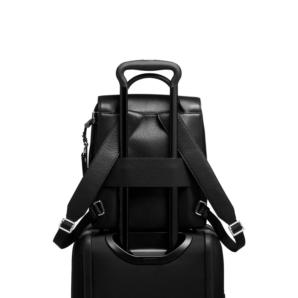 TUMI - Stanton Tori Flap Backpack - Black - backpacks4less.com