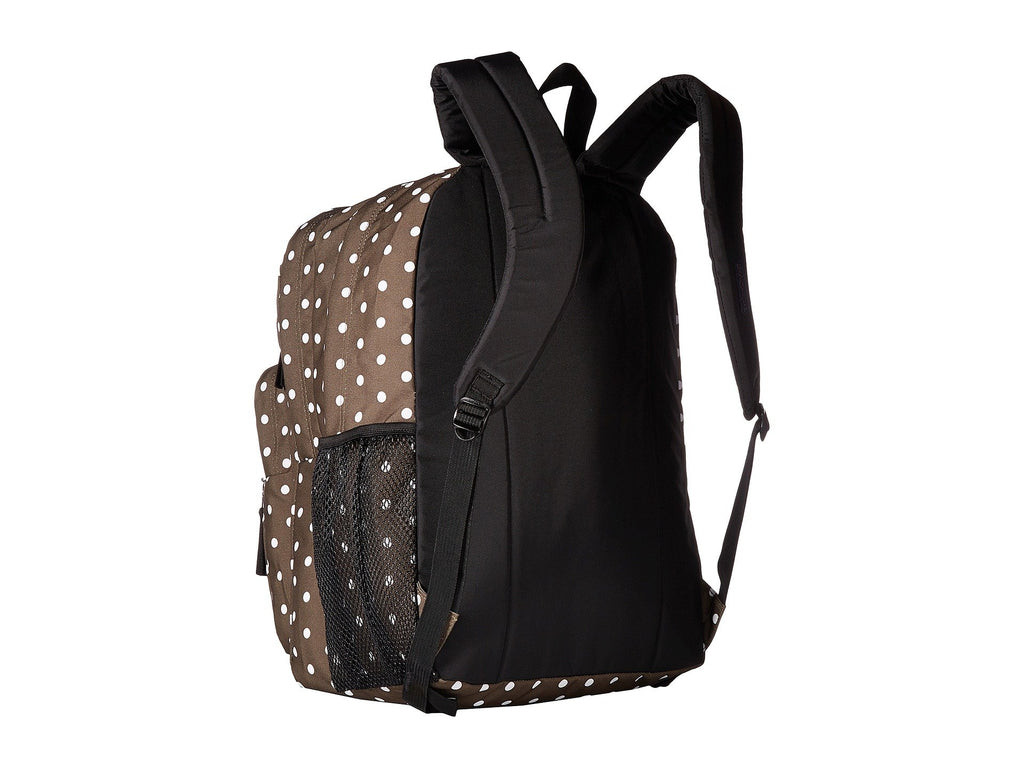 JanSport Big Student Backpack, Green Machine/White Dots - backpacks4less.com