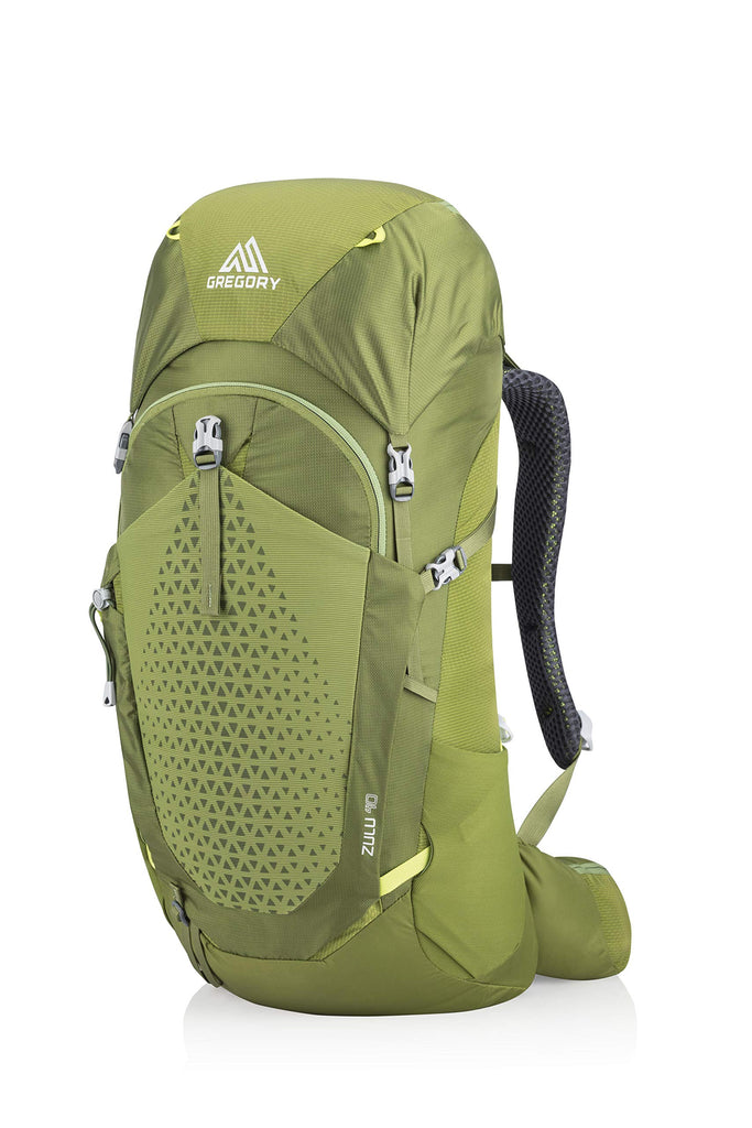 Gregory Mountain Products Zulu 40 Liter Men's Hiking Backpack, Mantis Green, Small/Medium - backpacks4less.com