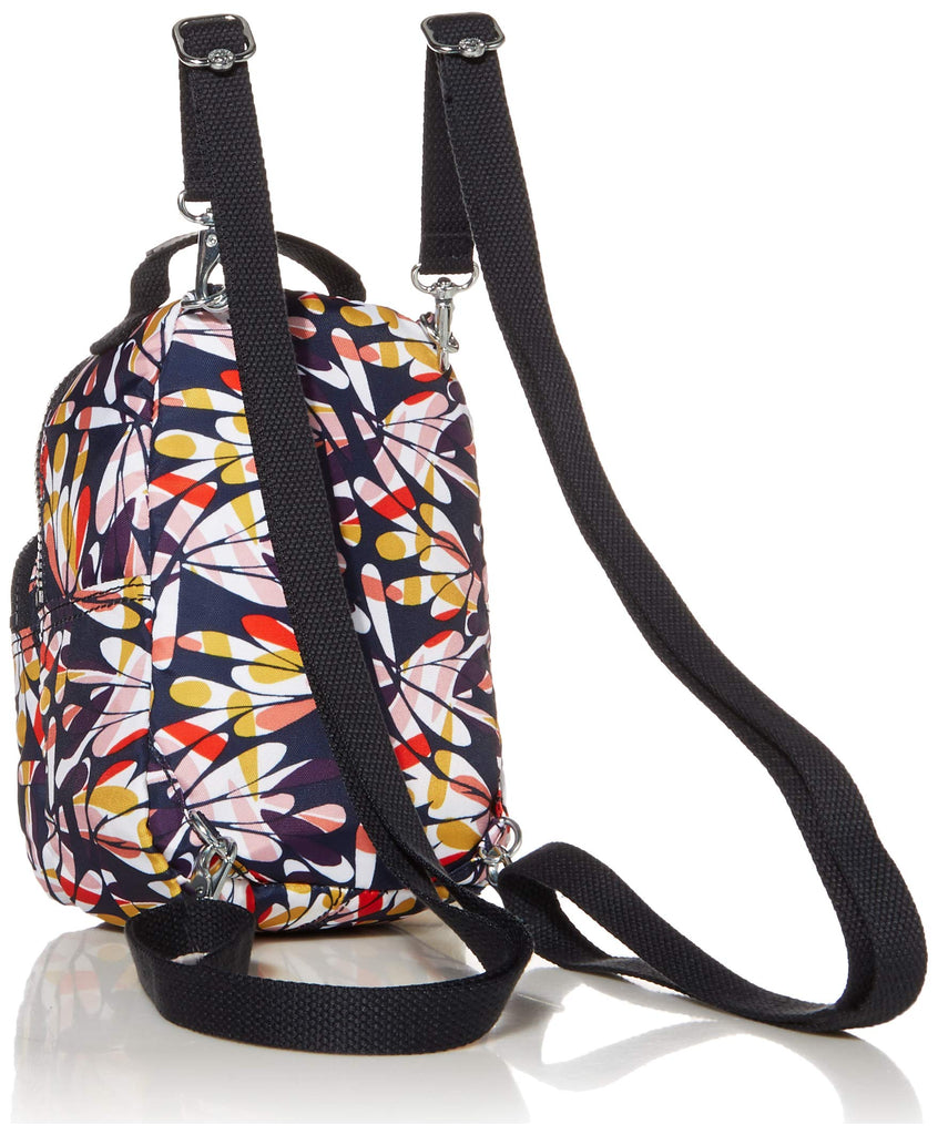 Kipling womens Alber 3-In-1 Convertible Mini Backpack, retro FLORAL, One Size - backpacks4less.com