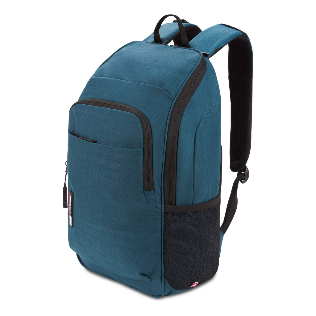 SWISSGEAR 3618 Large Laptop Backpack for School Work and Travel/Navy Heather - backpacks4less.com