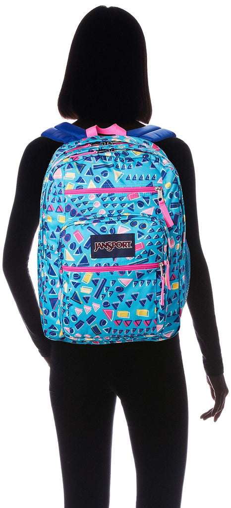 JanSport Big Student Backpack, Tumbled Treasures - backpacks4less.com