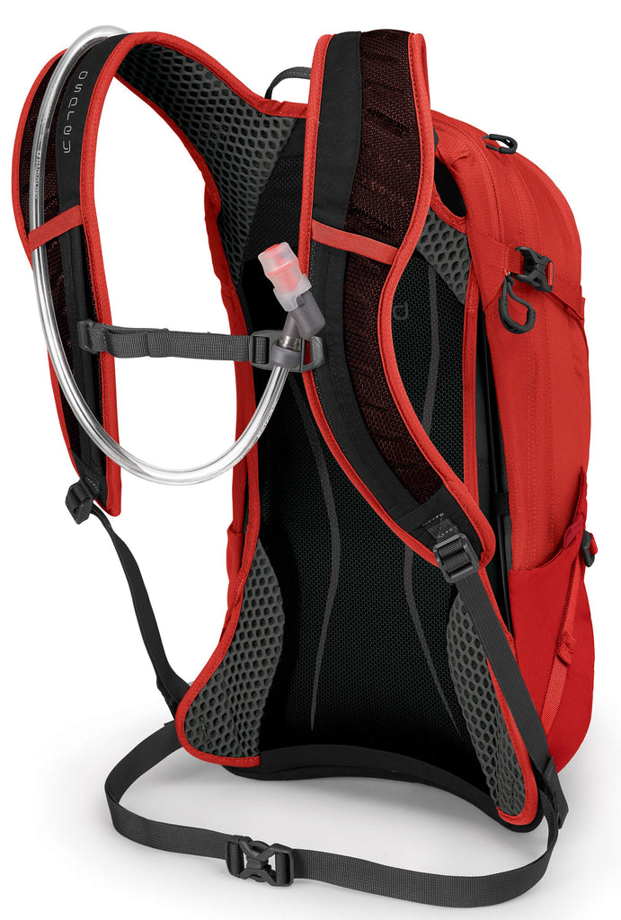 Osprey Packs Syncro 12 Hydration Pack, Firebelly Red - backpacks4less.com