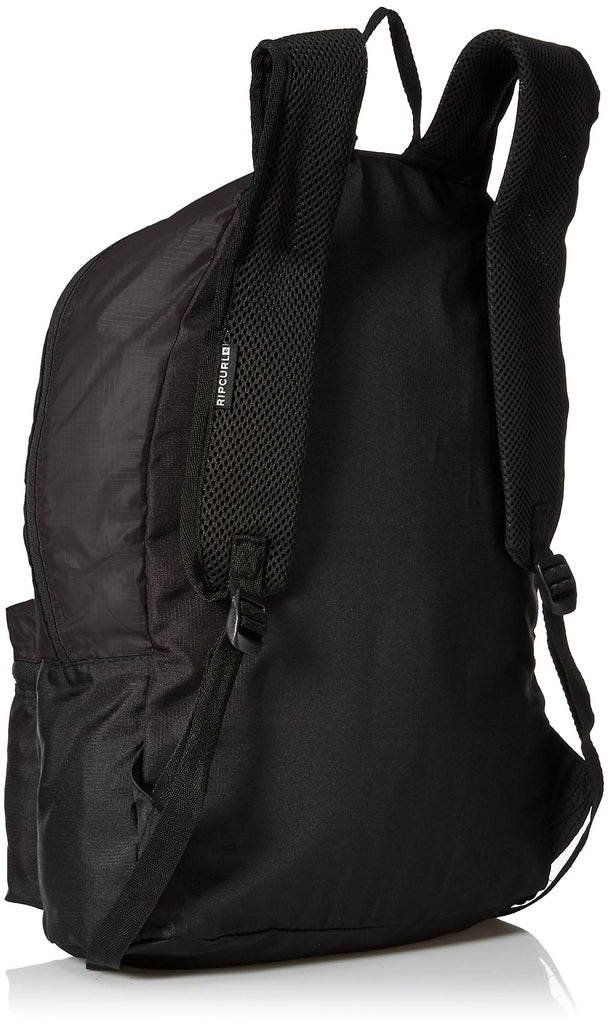 Rip Curl Men's Packable Dome Backpack, Black, 1SZ - backpacks4less.com