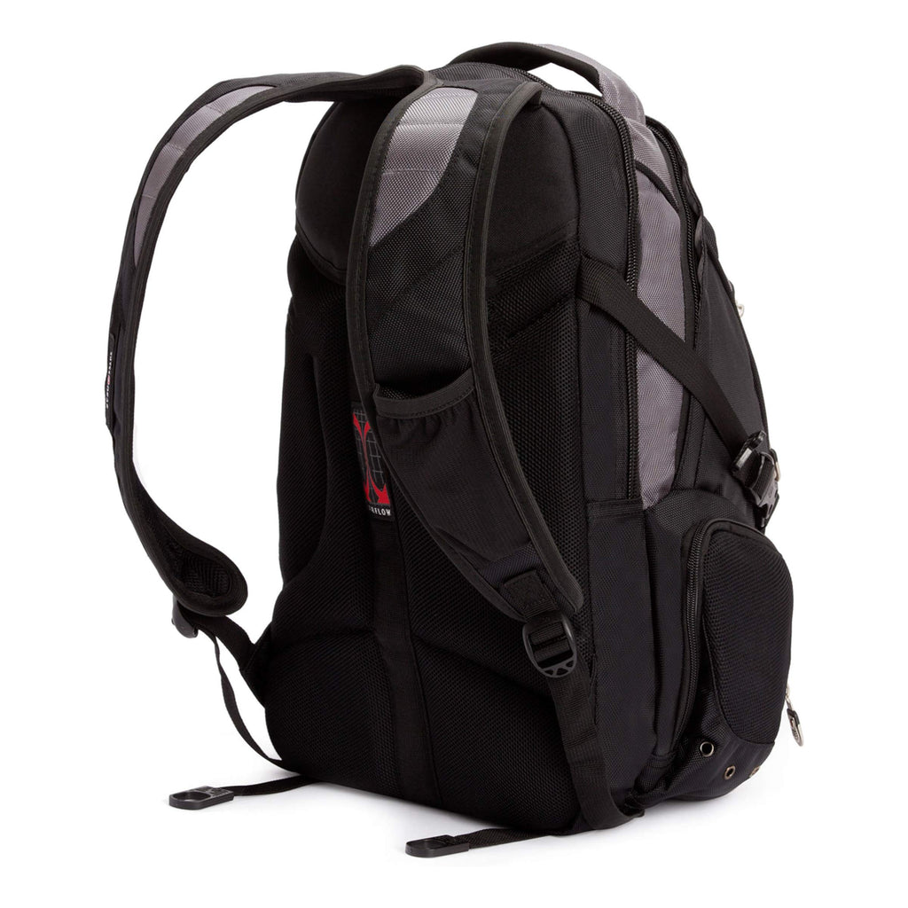 SwissGear Computer Backpack, Grey, One Size - backpacks4less.com