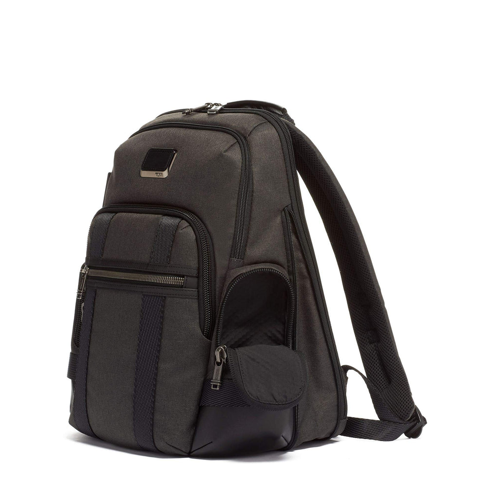TUMI - Alpha Bravo Nathan Laptop Backpack - 15 Inch Computer Bag for Men and Women - Graphite - backpacks4less.com