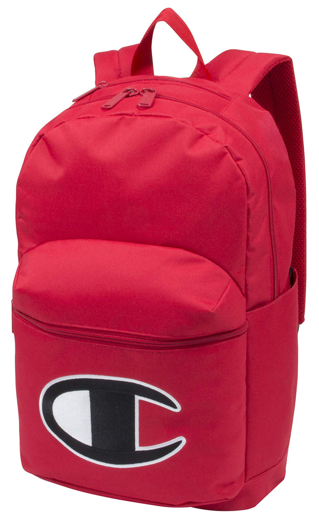 Champion LIFE Supersize 2.0 Backpack Red/Black One Size - backpacks4less.com