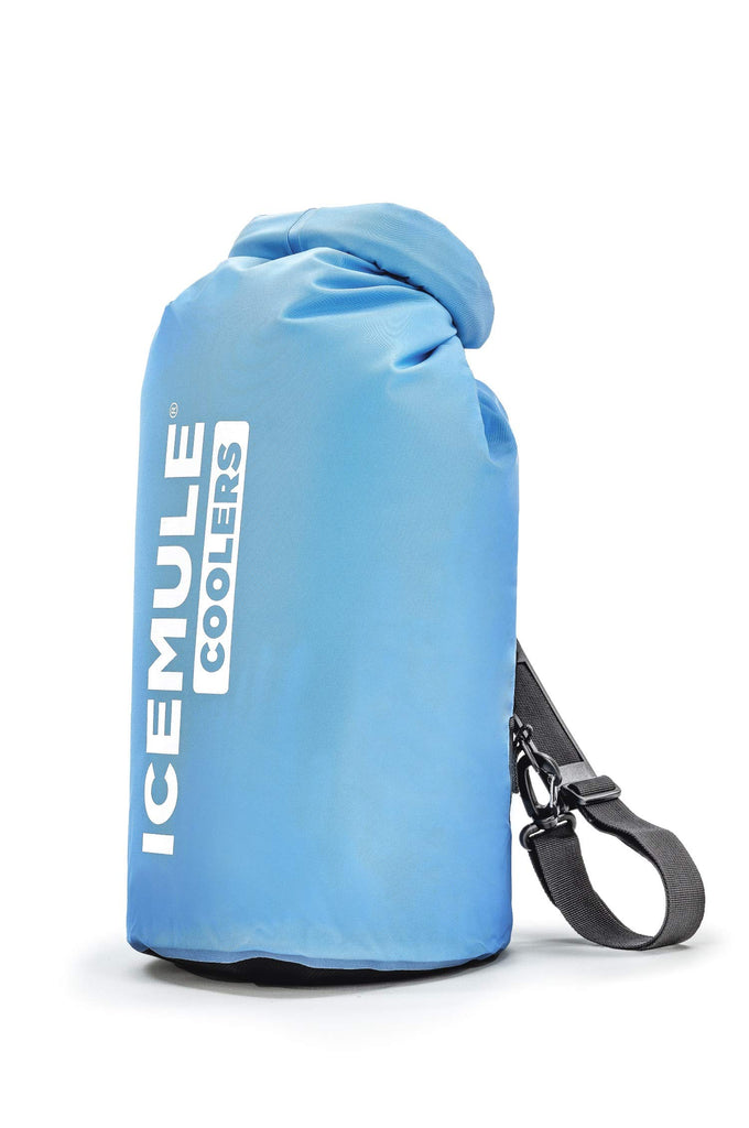 IceMule Classic Insulated Backpack Cooler Bag - Hands-Free, Collapsible, and Waterproof, This Portable Cooler is an Ideal Sling Backpack for Hiking, The Beach, Picnics and Camping-Medium, Blue - backpacks4less.com