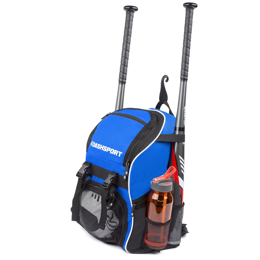 DashSport Baseball Bag Youth Backpack - Spacious 18 x 12 x 10 inches - backpacks4less.com