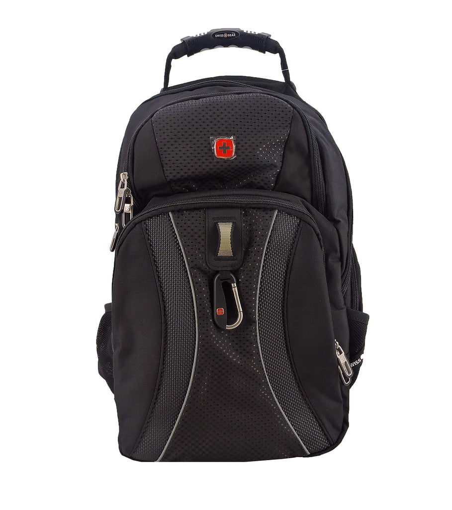 SWISSGEAR 1270 TSA friendly Scansmart Laptop Backpack School Work and Travel/Black - backpacks4less.com