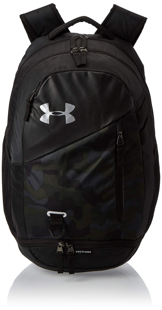Under Armour Hustle 4.0 Backpack, Desert Sand (290)/Silver, One Size Fits All - backpacks4less.com