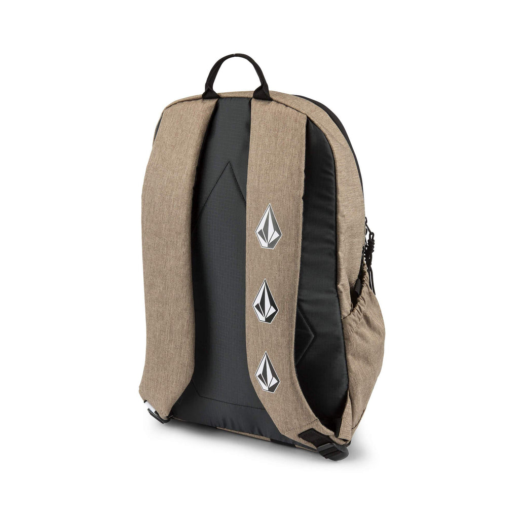 Volcom Young Men's Substrate Backpack Accessory, sand brown ONE SIZE FITS ALL - backpacks4less.com