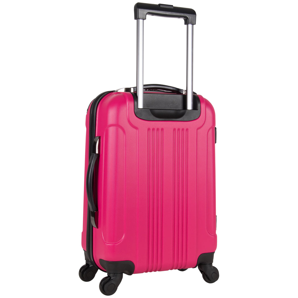 Kenneth Cole Reaction Out Of Bounds 20-Inch Carry-On Lightweight Durable Hardshell 4-Wheel Spinner Cabin Size Luggage - backpacks4less.com