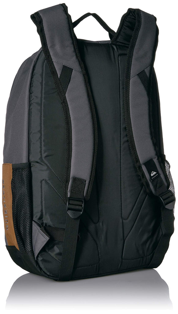 Quiksilver Men's SCHOOLIE Cooler II Backpack, f jord blue heather, 1SZ - backpacks4less.com