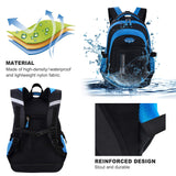 Boys Rolling Backpack, Fanspack Roller Backpack for Kids School Bag Wheeled Primary Backpack for Boys - backpacks4less.com