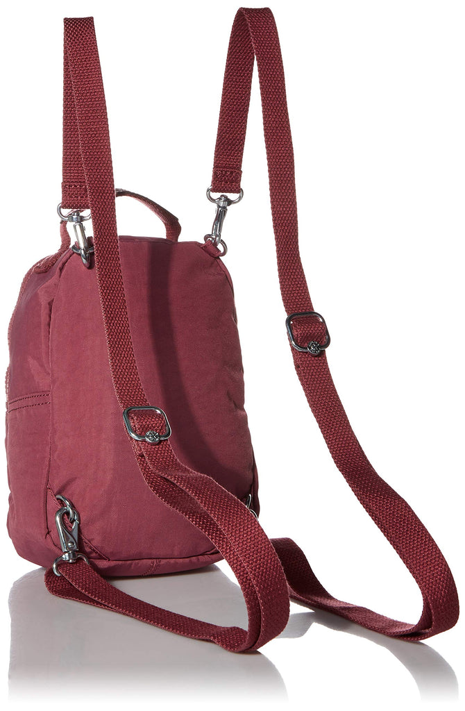 Kipling womens Alber 3-In-1 Convertible Mini Backpack, fig purple, One Size - backpacks4less.com