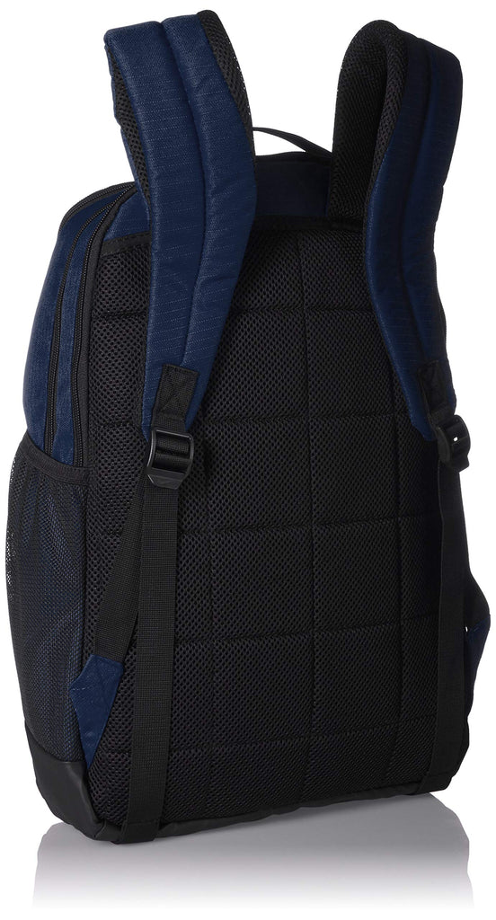 Nike Brasilia Medium Training Backpack, Nike Backpack for Women and Men with Secure Storage & Water Resistant Coating, Midnight Navy/Black/White - backpacks4less.com