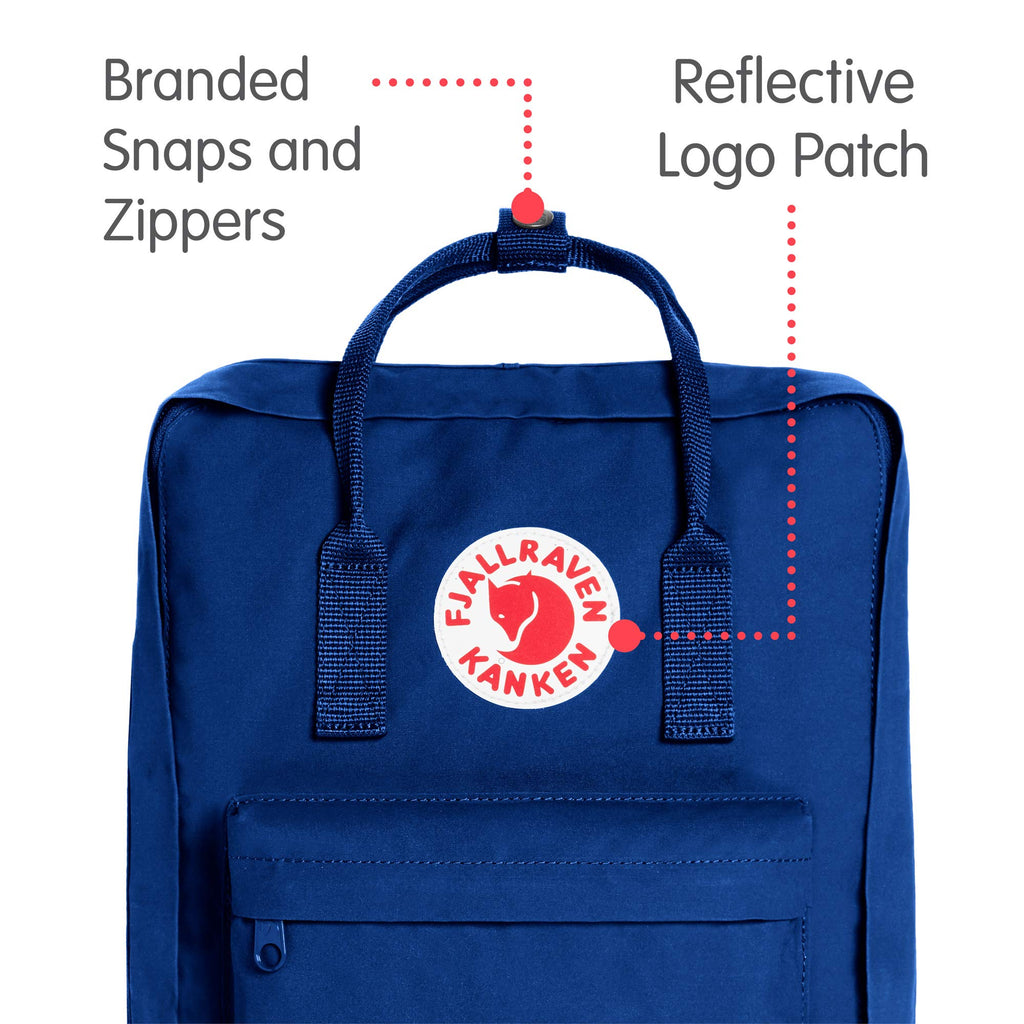 Fjallraven - Kanken Classic Backpack for Everyday, Deep Blue - backpacks4less.com