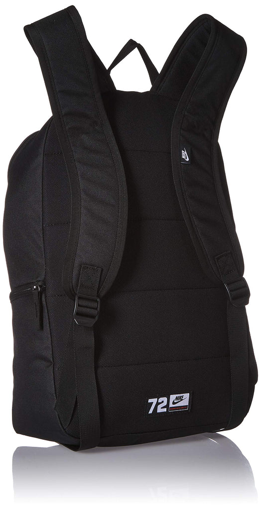 NIKE Heritage Backpack 2.0, Black/Black/Electric Green, Misc - backpacks4less.com