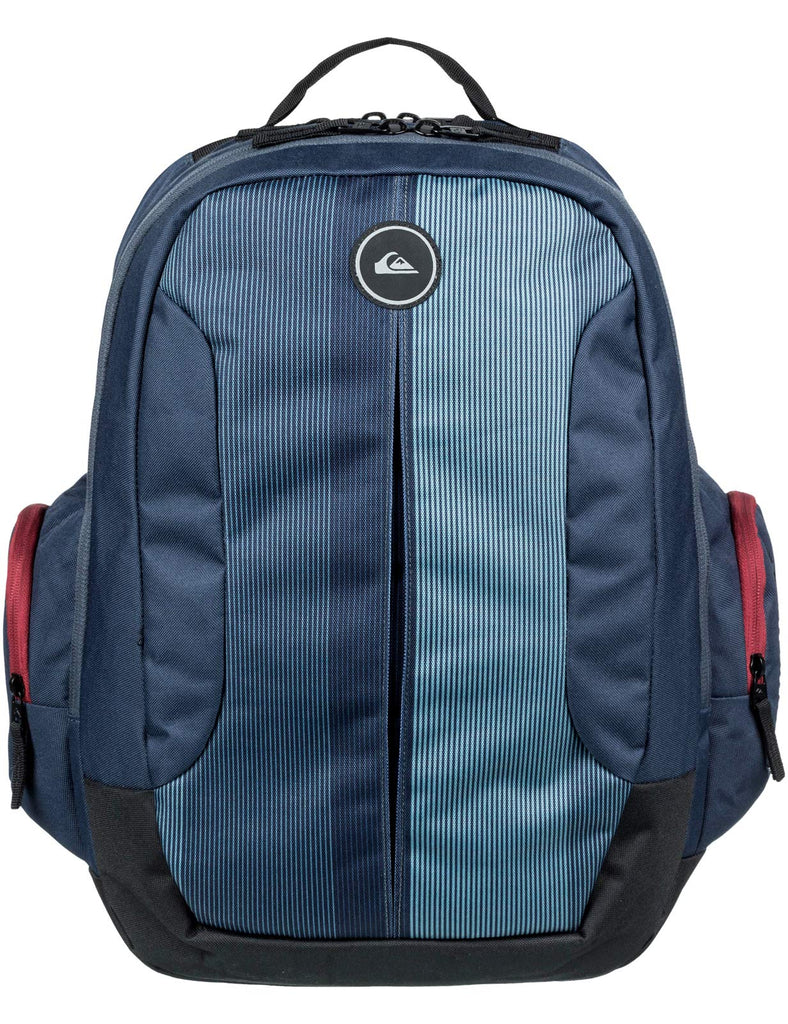 Quiksilver Schoolie II Backpack in Blue Nights - backpacks4less.com
