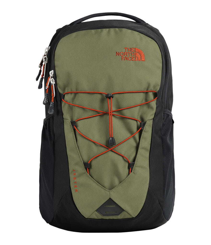 The North Face Jester Backpack, Four Leaf Clover/TNF Black - backpacks4less.com