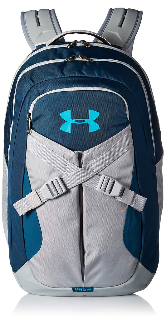 Under Armour Recruit Backpack 2.0, Techno Teal (489)/Deceit, One Size Fits all - backpacks4less.com