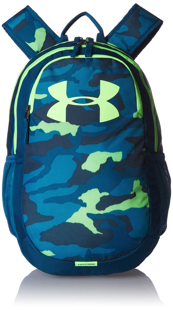 Under Armour Scrimmage Backpack 2.0, Teal Rush (454)/Lime Light, One Size Fits All - backpacks4less.com